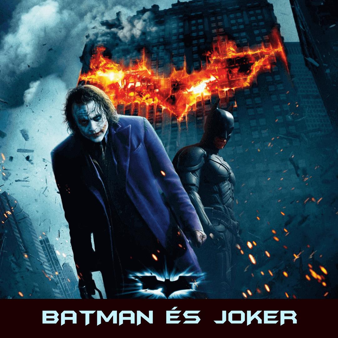 Batman és Joker szabadulószoba